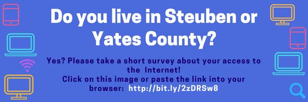 Steuben - Yates Internet Survey