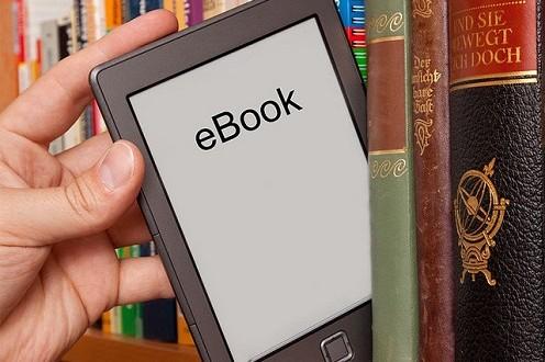 ebook on shelf