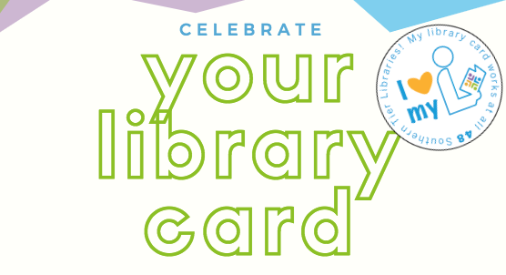 Library Card Sticker Campaign