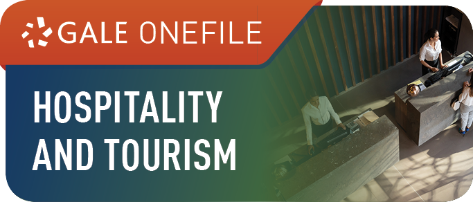 Gale OneFile Hospitality and Tourism