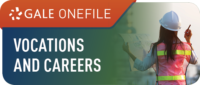 Gale OneFile Vocations and Careers